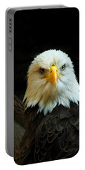 Portable Battery Charger featuring the photograph Portrait American Bald Eagle by Randall Branham
