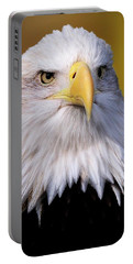 Portrait Of A Bald Eagle Portable Battery Charger