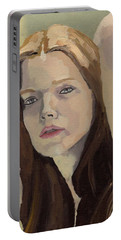 Portrait Of Ashley Portable Battery Charger