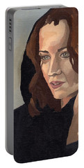 Portrait Of Becca 2 Portable Battery Charger