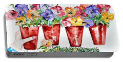 Pots 'n Pansies Portable Battery Charger