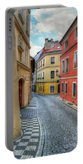 Prague Alleyway Portable Battery Charger