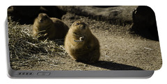 Prairie Dog Sees The Shadow Portable Battery Charger