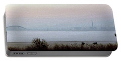 Pre-dawn Fog Portable Battery Charger