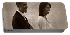 President Obama And First Lady S Portable Battery Charger by David Dehner