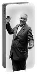 Portable Battery Charger featuring the photograph President Warren G Harding - C 1920 by International  Images