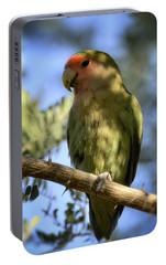 Pretty Bird Portable Battery Charger by Saija  Lehtonen