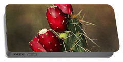 Prickley Pear Fruit Portable Battery Charger
