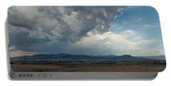 Portable Battery Charger featuring the photograph Promises Of Rain by Fran Riley