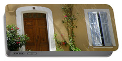 Provence Door 3 Portable Battery Charger by Lainie Wrightson