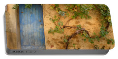 Provence Door 5 Portable Battery Charger by Lainie Wrightson