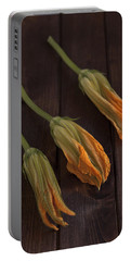 Pumpkin Blossoms Portable Battery Charger