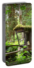 Rain Forest Telephone Booth Portable Battery Charger