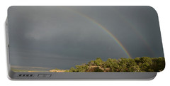 Rainbow At Grand Canyon Portable Battery Charger