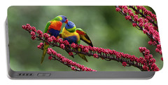 Rainbow Lorikeet Trichoglossus Portable Battery Charger