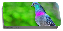 Rainbow Pigeon Portable Battery Charger
