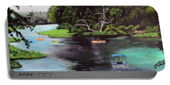 Rainbow Springs In Florida Portable Battery Charger