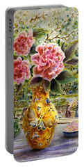 Rainy Afternoon Joy Portable Battery Charger by Dee Davis