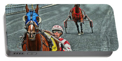 Portable Battery Charger featuring the photograph Ready To Race by Alice Gipson