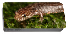 Red-backed Salamander Portable Battery Charger by Ted Kinsman