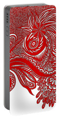 Red Chicken Portable Battery Charger