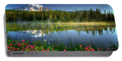 Reflection Lakes Portable Battery Charger by William Lee