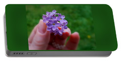 Portable Battery Charger featuring the photograph Make A Wish by Marija Djedovic