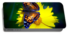 Resting Butterfly Portable Battery Charger
