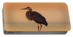 Resting Heron Portable Battery Charger