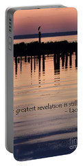 Revelation Portable Battery Charger by Lainie Wrightson