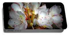 Rhododendron Explosion Portable Battery Charger