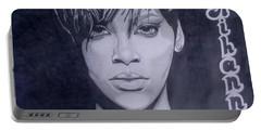 Rihanna Portable Battery Charger