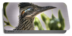 Roadrunner Portrait  Portable Battery Charger