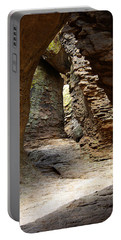 Portable Battery Charger featuring the photograph Rock Chamber by Vicki Pelham
