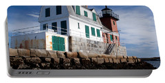 Rockland Breakwater Lighthouse Portable Battery Charger