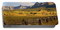 Rocky Mountain Ranch Portable Battery Charger by Steve Stuller