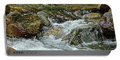 Portable Battery Charger featuring the photograph Rocky River by Lydia Holly