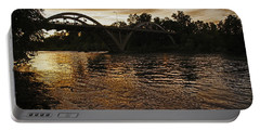 Rogue River Sunset Portable Battery Charger by Mick Anderson
