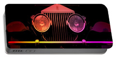 Portable Battery Charger featuring the photograph Rolls Royce Smile by George Pedro