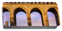 Roman Arches Portable Battery Charger by Semmick Photo