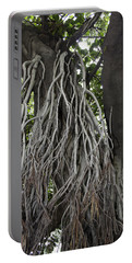 Roots From A Large Tree Inside Jallianwala Bagh Portable Battery Charger by Ashish Agarwal