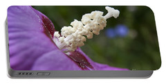 Portable Battery Charger featuring the photograph Rose Of Sharon by Jeannette Hunt