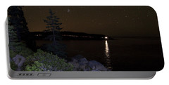 Portable Battery Charger featuring the photograph Rounding Otter Point by Brent L Ander