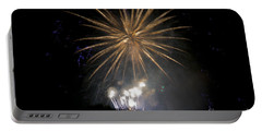 Portable Battery Charger featuring the photograph Rvr Fireworks 1 by Mark Dodd