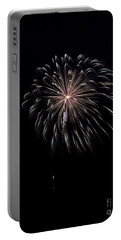 Portable Battery Charger featuring the photograph Rvr Fireworks 10 by Mark Dodd