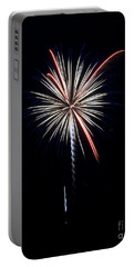 Portable Battery Charger featuring the photograph Rvr Fireworks 11 by Mark Dodd