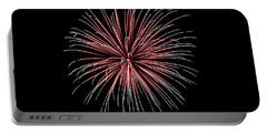 Portable Battery Charger featuring the photograph Rvr Fireworks 12 by Mark Dodd