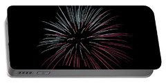 Portable Battery Charger featuring the photograph Rvr Fireworks 15 by Mark Dodd