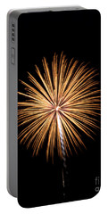Portable Battery Charger featuring the photograph Rvr Fireworks 27 by Mark Dodd