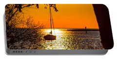 Portable Battery Charger featuring the photograph Sail Away by Shannon Harrington